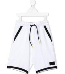 il gufo loose fit shorts - white