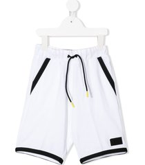 il gufo loose fit shorts - white