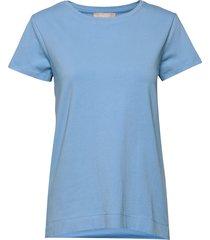 elle t-shirt t-shirts & tops short-sleeved blå soft rebels