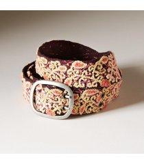 women's floriana wool belt