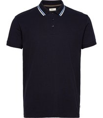 polo shirts t-shirts short-sleeved blå esprit casual