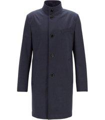 boss men's slim fit stretch coat