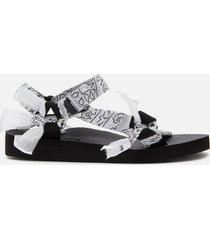 arizona love women's trekky bandana sandals - white - uk 5