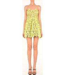 lime azaelea mini dress