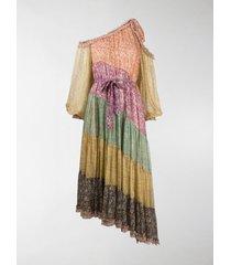 zimmermann carnaby floral-print silk dress