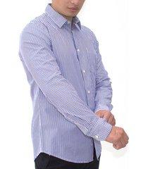 camisa azul color siete 100-010713