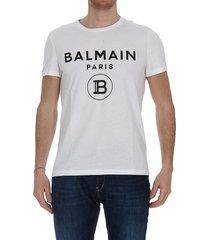 balmain balmain logo t-shirt