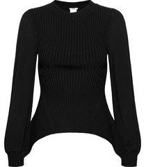 montana pullover stickad tröja svart wolford