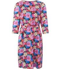 jurk 100% zijde 3/4-mouwen van uta raasch multicolour