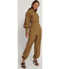 trendyol jumpsuit - brown