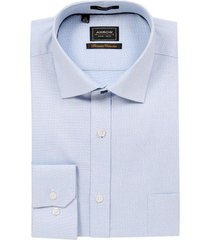 camisa formal celeste texturada arrow