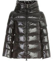 herno cape gloss padded jacket