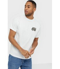 dr denim trooper tee t-shirts & linnen white