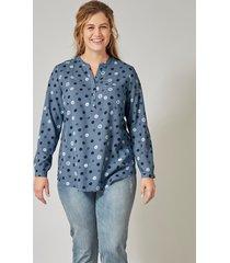 blouse janet & joyce blauw