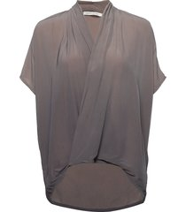 javana blouses short-sleeved multi/mönstrad rabens sal r