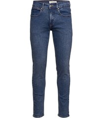 5 pocket jeans blue destiny slimmade jeans blå lindbergh