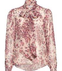peony blouse blouse lange mouwen roze ida sjöstedt