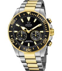 reloj actual dorado jaguar