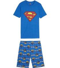 pigiama corto uomo comics