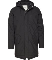 wexford 3.0 parka jas zwart minimum
