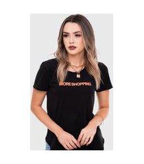 t-shirt saint cropped preta