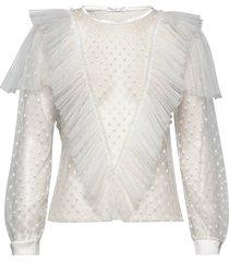 maxima top blouse lange mouwen ida sjöstedt