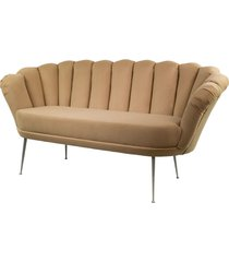 sofa beżowa dwuosobowa tapicerowany lux-4