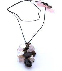 collana furla ponza 684626 quarzo rosa