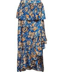 ballon skirt knälång kjol blå birgitte herskind