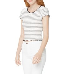 bcbgeneration cropped babydoll t-shirt