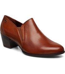 slipper shoes heels pumps classic brun tamaris