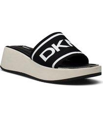 mandy shoes summer shoes flat sandals svart dkny