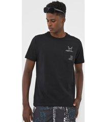 camiseta wg coelho cool preta - preto - masculino - dafiti