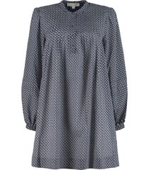 michael kors printed cotton dress