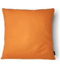 almofada em poliéster aquarela 40x40cm laranja