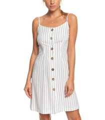 roxy juniors' sweet about me striped dress
