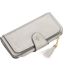 borla cartera dama baellerry moda billetera porta tarjetas