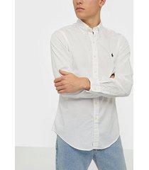polo ralph lauren long sleeve sport shirt skjortor white