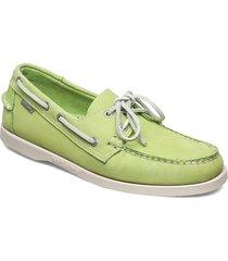 docksides båtskor skor grön sebago