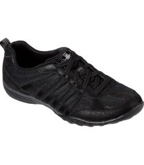 zapatilla breathe - easy - be - relaxed negro skechers