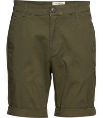 slhstraight-paris shorts w noos shorts chinos shorts grön selected homme