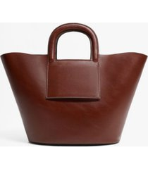 mango women's shopper tote bag