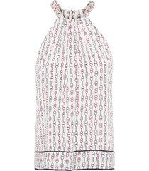 blusa feminina gola rolotes - bege