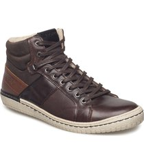alvin mid m shoes boots winter boots brun björn borg