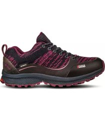 zapato impermeable light rock low all purpura lippi