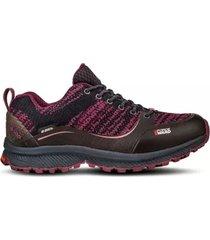 zapato impermeable light rock low all purpura lippi