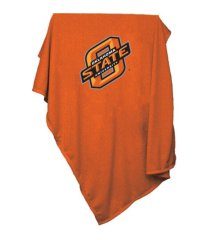 logo chair oklahoma state cowboys sweatshirt blanket