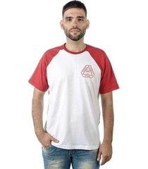camiseta mxc brasil street urban wear raglan - masculino