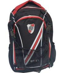 mochila negra river plate oficial