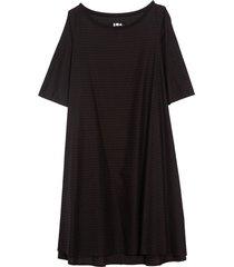 tauro dress in black